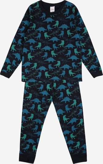 s.Oliver Junior Nachtkledij in de kleur Navy / Gemengde kleuren, Productweergave