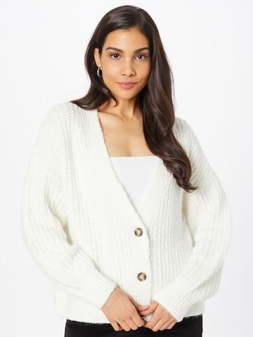ESPRIT Knit Cardigan in White