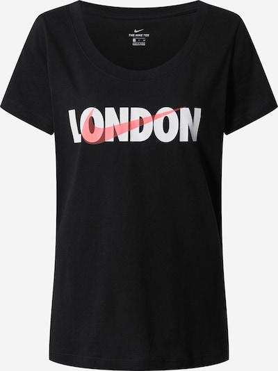 Nike Sportswear T-Shirt in lachs / schwarz / weiß, Produktansicht