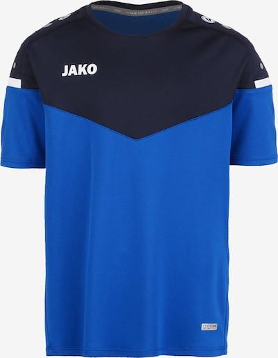 JAKO T-Shirt in blau / schwarz / weiß, Produktansicht