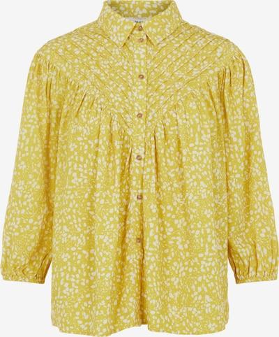 OBJECT Bluse 'Hessa' in senf / weiß, Produktansicht