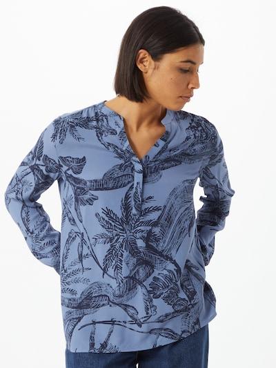 Bluză 'Fadia' LIEBLINGSSTÜCK pe marine / negru, Vizualizare model
