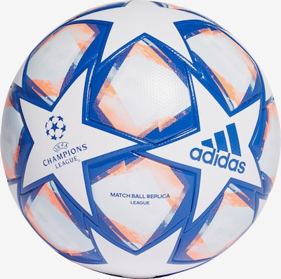 ADIDAS PERFORMANCE Ball in blau / hellorange / weiß, Produktansicht