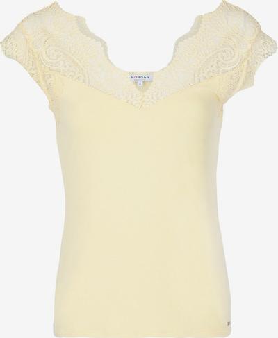 Morgan T-Shirt 'DENO' in hellgelb, Produktansicht