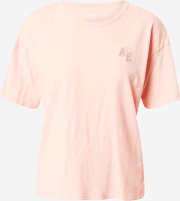 American Eagle Shirt 'SANTA MONICA' in Orange