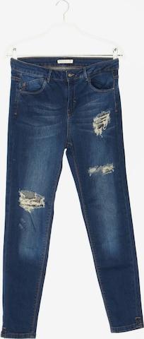 Pull&Bear Skinny-Jeans in 29 in Blau