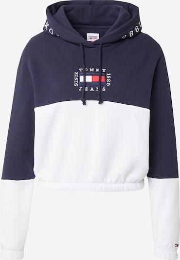 TOMMY HILFIGER Sweater majica u noćno plava / bijela, Pregled proizvoda