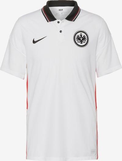 NIKE Fußballtrikot 'Eintracht Frankfurt 20-21 Auswärts' in rubinrot / melone / schwarz / naturweiß, Produktansicht