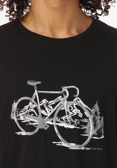 Lakeville Mountain T-Shirt 'Reclus' in nachtblau / grau / weiß, Produktansicht