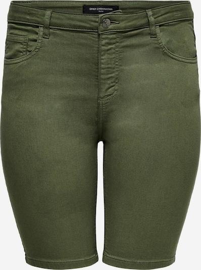 ONLY Carmakoma Shorts in oliv, Produktansicht