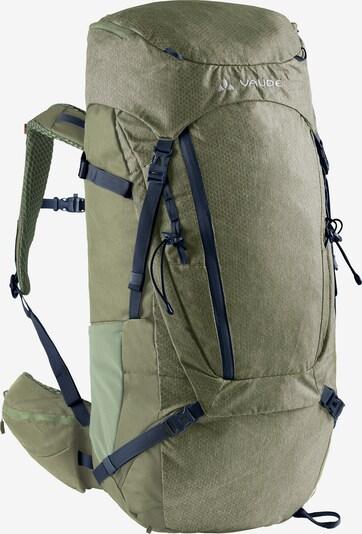 VAUDE Rucksack 'Asymmetric' in grün, Produktansicht