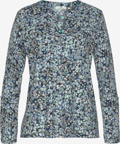 Tom Tailor FM Shirt in nachtblau / hellblau / grün / rubinrot / weiß, Produktansicht