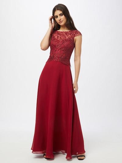 Vera Mont Kleid in burgunder, Modelansicht