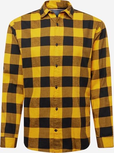 JACK & JONES Overhemd in de kleur Sinaasappel / Zwart, Productweergave