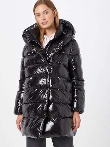 Herrlicher Zimný kabát 'Tamsin' - Čierna