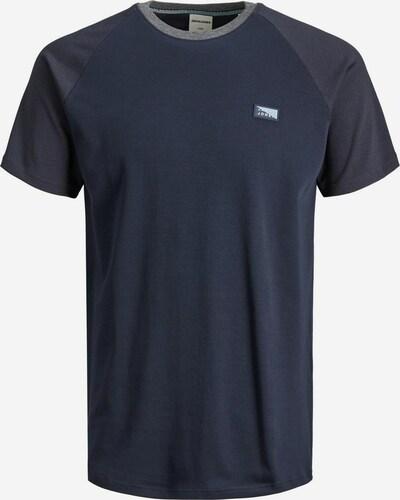 JACK & JONES T-Shirt in navy / dunkelgrau, Produktansicht