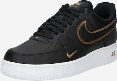 aranysárga / fekete Nike Sportswear Rövid szárú edzőcipők 'Force 1 '07 LV8', Termék nézet