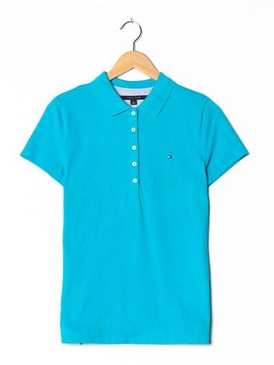 TOMMY HILFIGER Polohemd in M in türkis, Produktansicht