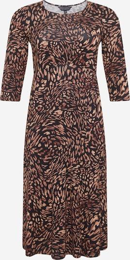 Dorothy Perkins Curve Robe en marron / noir, Vue avec produit