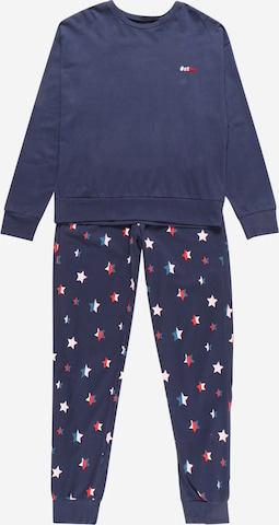 SCHIESSER Pyžamo - Modrá