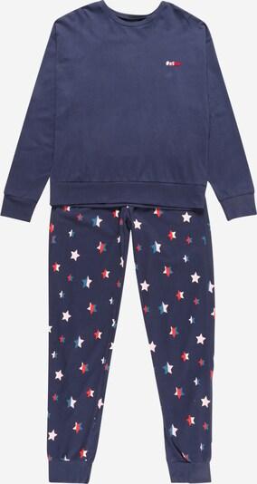 SCHIESSER Pajamas in Sky blue / Dark blue / Pink / Red / White, Item view
