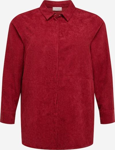 TRIANGLE Bluse in kirschrot, Produktansicht