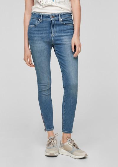 s.Oliver Jeans 'Izabell' in blue denim, Modelansicht