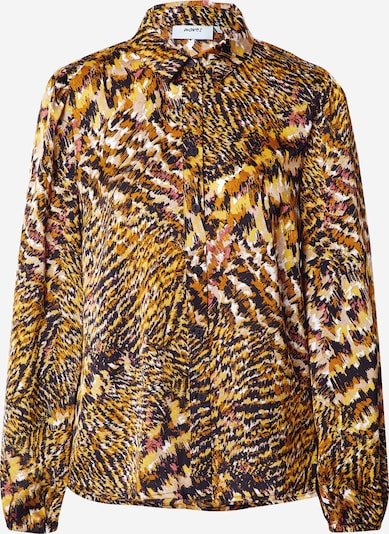 Moves Bluse in gelb / orange / schwarz, Produktansicht