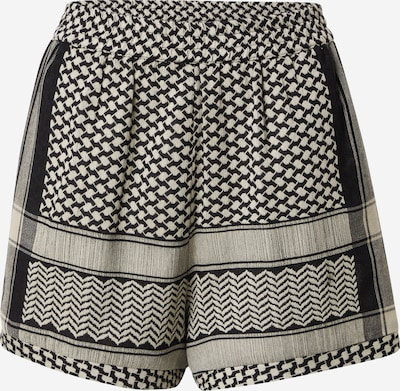 Cecilie Copenhagen Bikses, krāsa - bēšs / melns, Preces skats