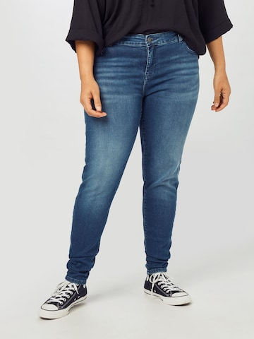 Noisy May Curve Jeans in Blauw