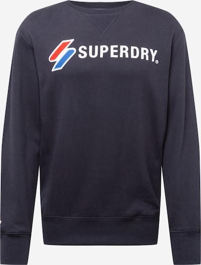 Superdry Collegepaita värissä sininen / tummansininen / punainen / valkoinen, Tuotenäkymä