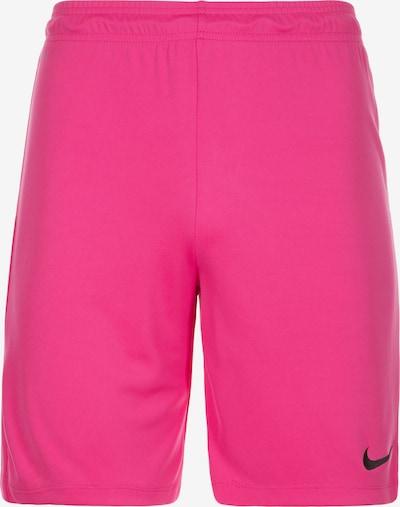 NIKE Short in pink / schwarz, Produktansicht