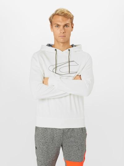 CAMEL ACTIVE Sweatshirt i brun / hvid: Frontvisning