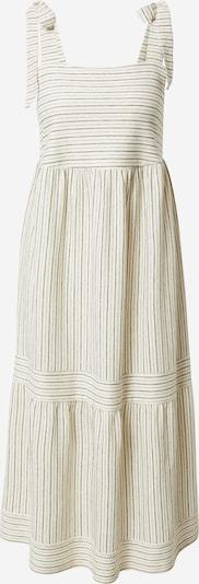 ESPRIT Kleid in schwarz / offwhite: Frontalansicht