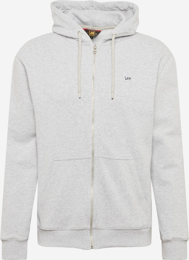 Lee Sweatjacke in hellgrau / schwarz / weiß, Produktansicht