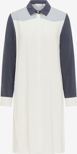Rochie tip bluză RISA pe albastru noapte / gri / alb, Vizualizare produs