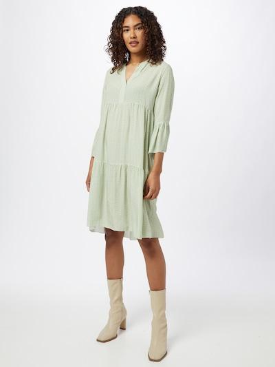 ZABAIONE Shirt Dress 'Anna' in Green / White, View model
