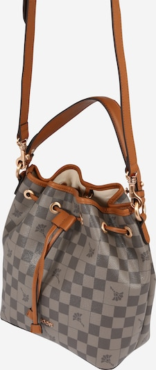 JOOP! Bolso saco 'Zohara' en gris / gris oscuro, Vista del producto