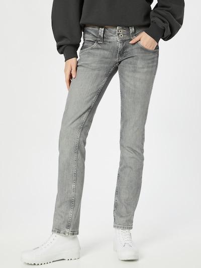 Pepe Jeans Jeans 'Venus' in grey denim, Modelansicht