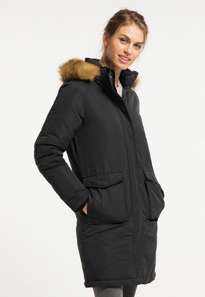Usha Zimski kaput u crna, Prikaz modela