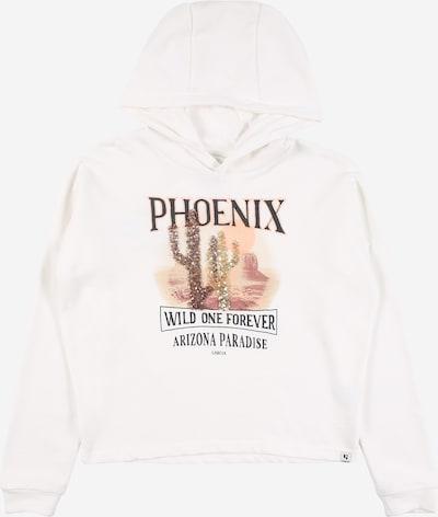 GARCIA Sweatshirt in mischfarben / offwhite, Produktansicht