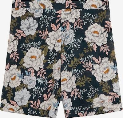 MANGO Shorts 'tulip-i' in creme / grün / rosa / schwarz, Produktansicht