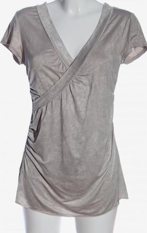 Bea Tricia Kurzarm-Bluse in L in Grau