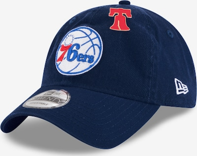 NEW ERA Cap '9Twenty NBA 18 Draft Philadelphia 76er Snapback' in blau, Produktansicht
