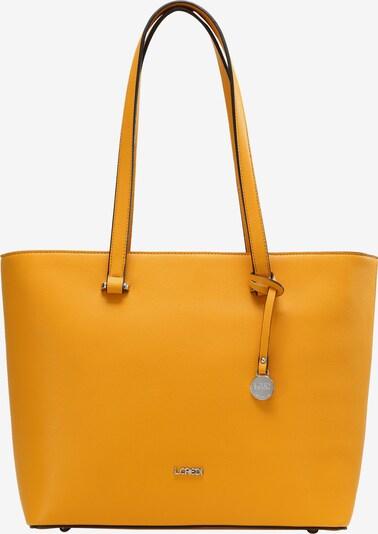 L.CREDI Shopper 'GRAZIA' in gelb / senf, Produktansicht