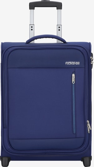 American Tourister Trolley in blau, Produktansicht