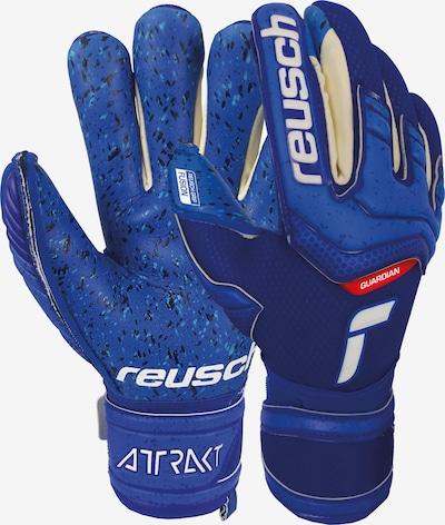 REUSCH Torwarthandschuhe 'Attrakt Fusion Finger Support' in blau, Produktansicht