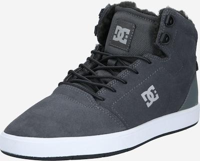 DC Shoes Sneaker 'Crisis' in dunkelgrau / weiß, Produktansicht
