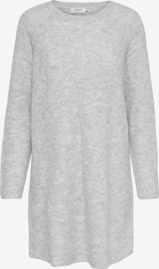 ONLY Knitted dress 'Carol' in Light grey, Item view