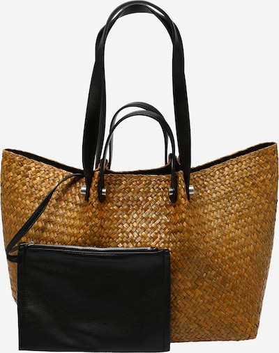 világos bézs / fekete AllSaints Shopper táska 'Allington', Termék nézet